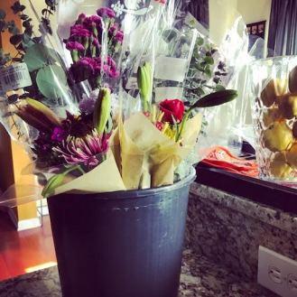 Trader Joe's flowers.