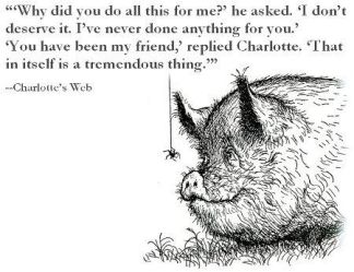 Charlotte\'s Web on friendships: Be still my heart – Fuel The ...