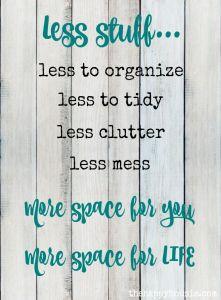 clutter 2 fuel the soul